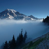Rainier Above the Fog, Mount Rainier National Park, WA