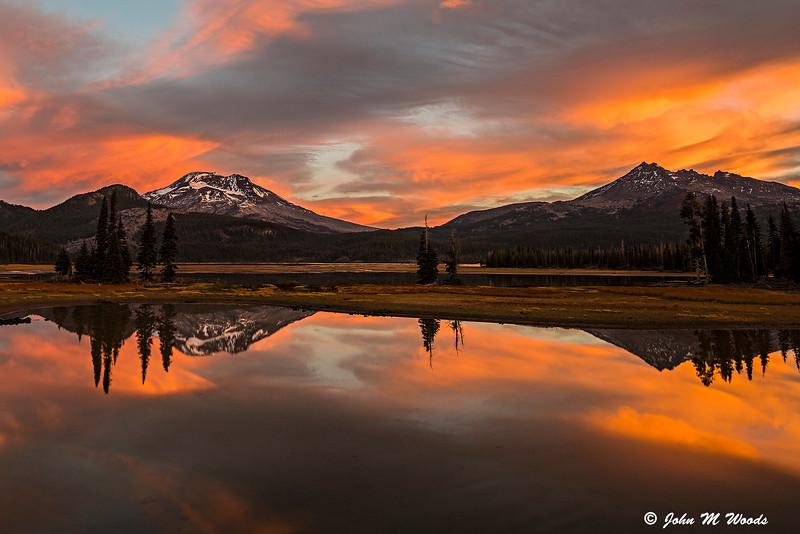 Sparks Lake Sunrise, Bend, OR #2