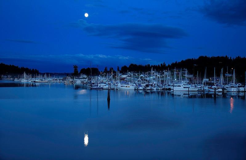Gig Harbor Moonrise