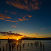 Titlow Beach Sunset, University Place, WA