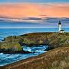Yaquina Head Lighthouse Sunset Version 2.