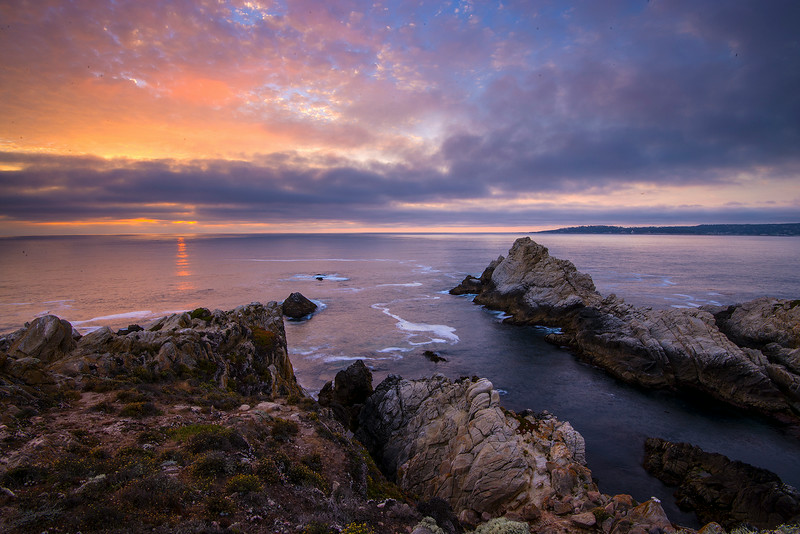Point Lobos Sunset, Carmel, CA.