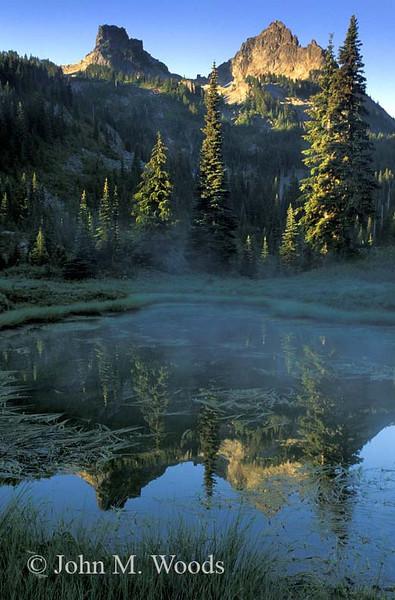 Tatoosh Sunrise, Mount Rainier National Park, WA