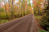 NWB-9006: Backroad in Superior National Forest in fall