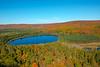 Fall color at Oberg Lake