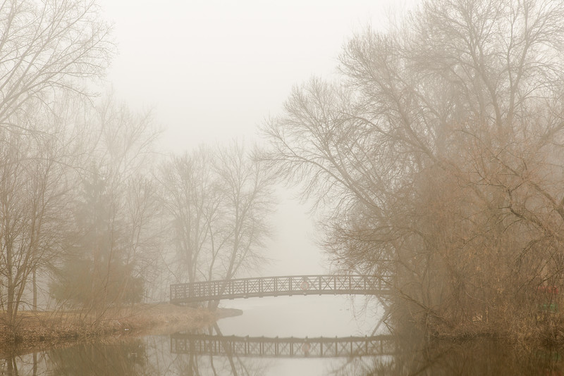 Foggy morning at Elm Creek