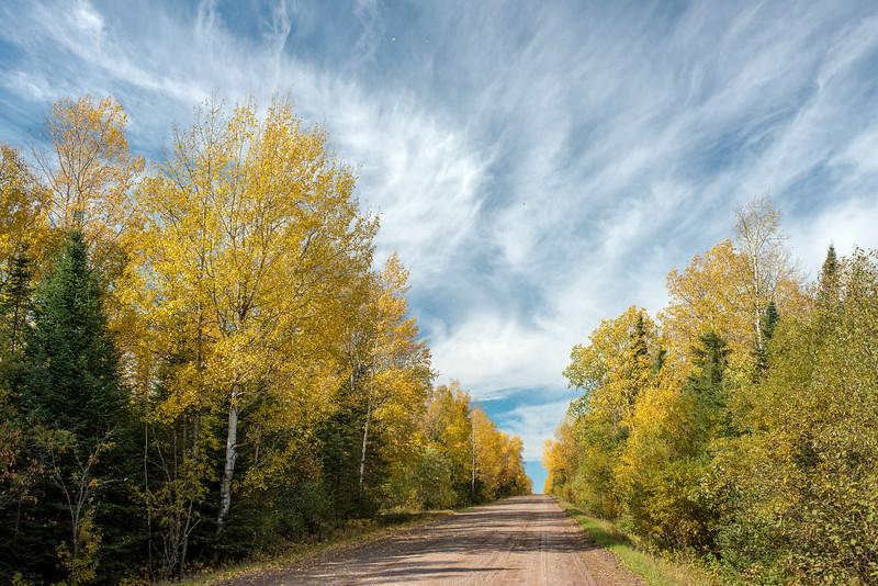 Caribou Trail in fall