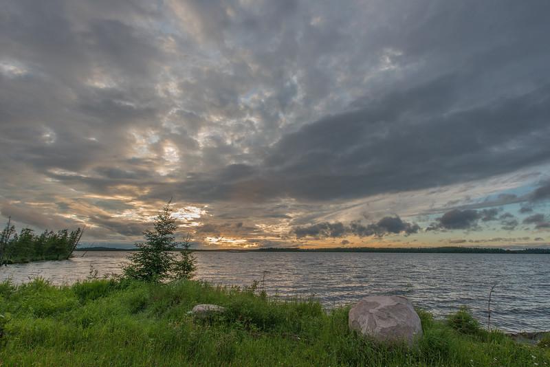 Sunset at Lost Lake