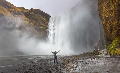 Iceland, Reynisfjara, Skogafoss, Gullfoss and Kerid Crater