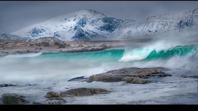 Lofoten Island and Iceland in Winter_2020