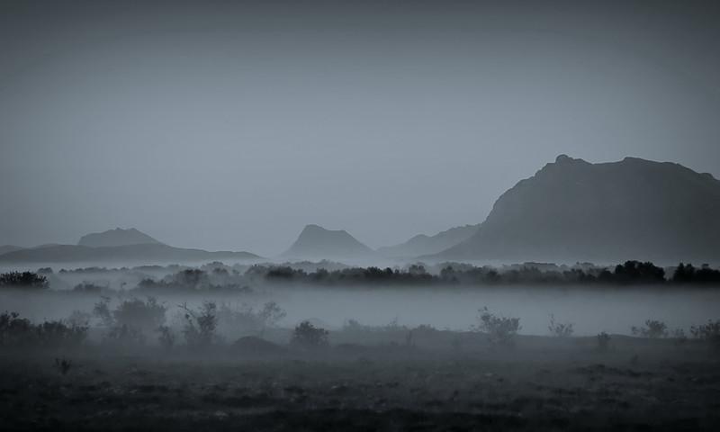 Foggy mood<br /> Andøya