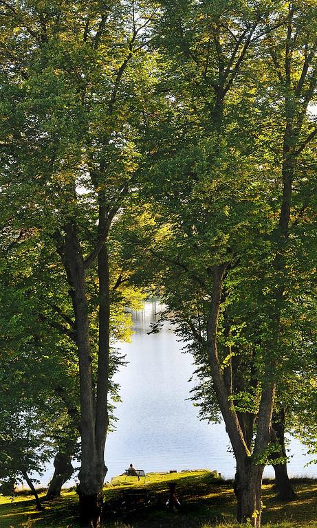 Bogstadvannet, September 2008.