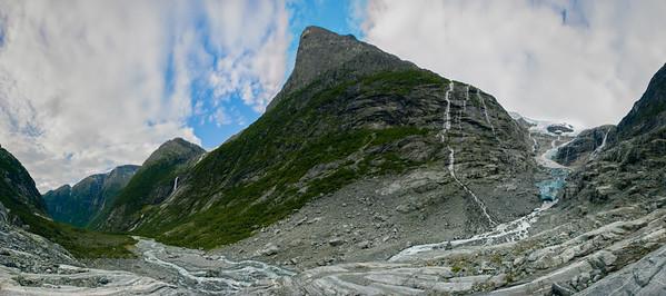 Kjenndalsbreen  Jostedalsbreen National Park, Norway