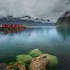 Norway. Image of Lofoten Islands, Norway during stormy weather.