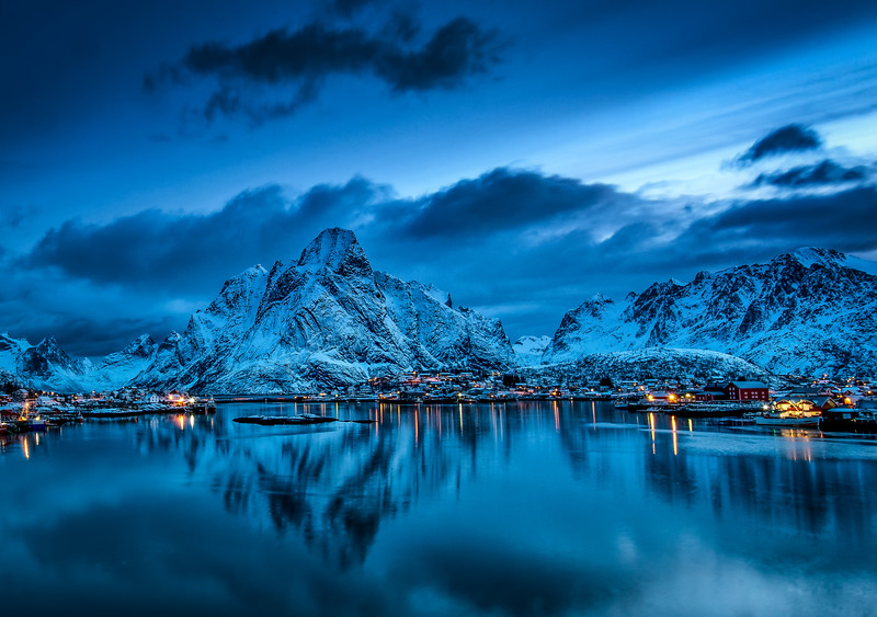 Reine, Blue hour II.