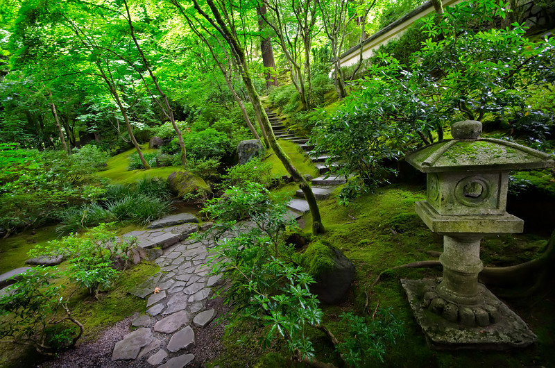 Japanese Gardens in Portland, Oregon