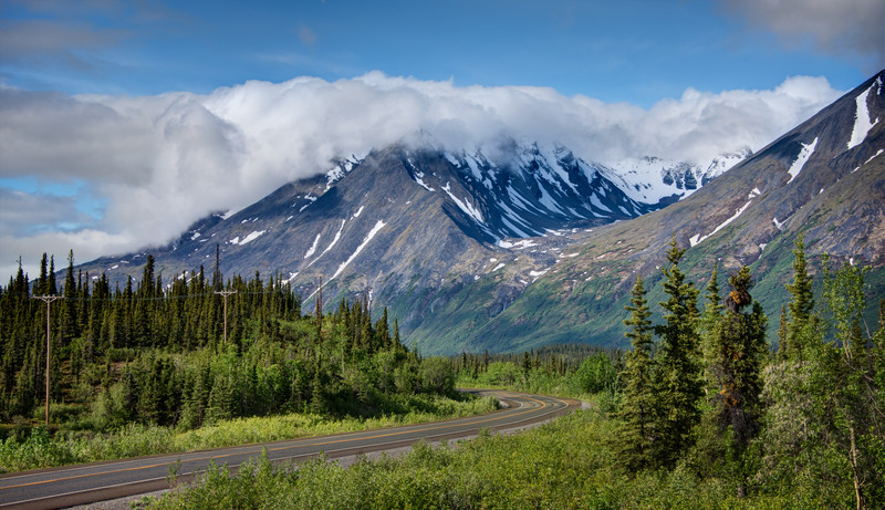 George Parks Highway - Alaska Route 3 in Denali