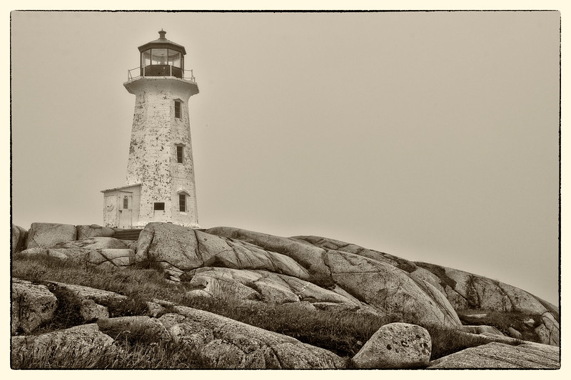 'Peggy's Light' - Peggy's Cove, Nova Scotia