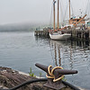 Sail Boat at Rest - Lunenburg Harbor, NS