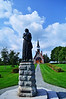 Evangeline Statue and Memorial Church Gran Pre NS