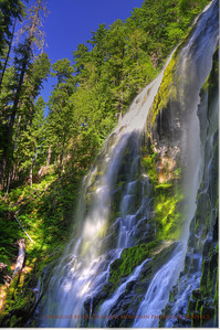 Proxy Falls on the West slope of MacKenzie Pass.
