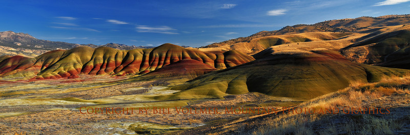 A Fall afternoon at the Painted Hills Unit of the John Day Fossil Beds National Monument.