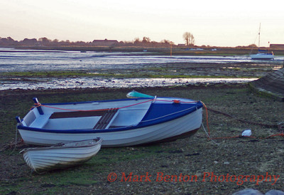 Aground at Low Tide