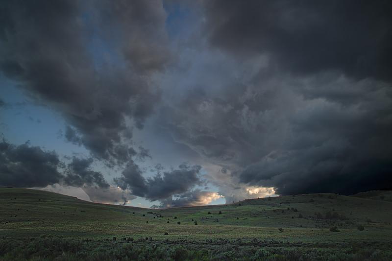 Dramatic Sky Scenario.