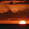 Sunset off Makaha, Oahu Hawaii