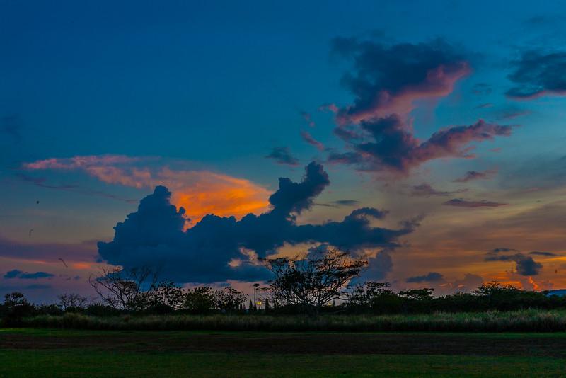 CORPS Sunset Oahu Hawaii 2013