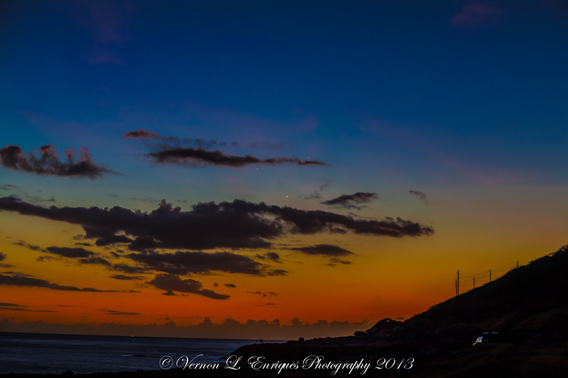 Kaena Point Sunset  5.26.13
