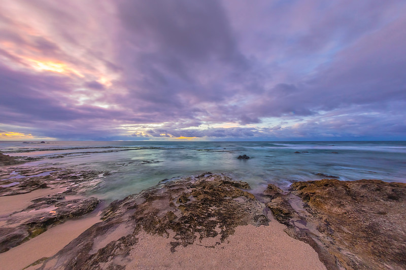 Kaena Point Sunset 7.27.13