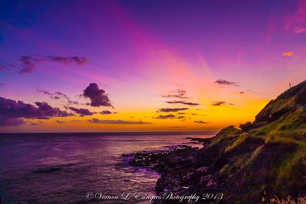 Kaena Point Sunset  5.26.13