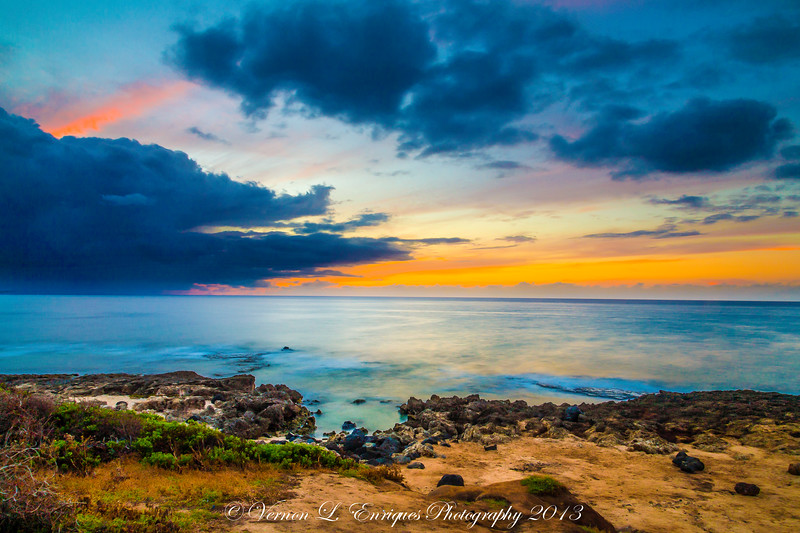 Kaena Point Sunset 7.15.13