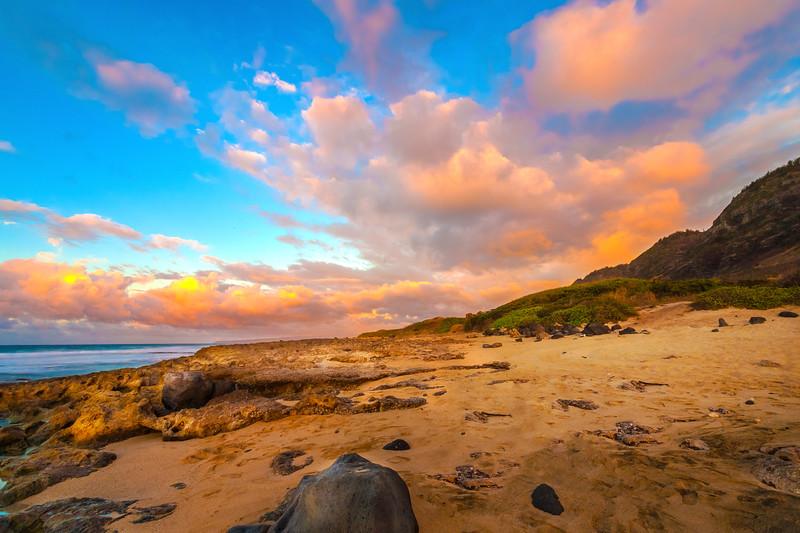 Kaena Point Haleiwa Side  Sunset 10.6.13