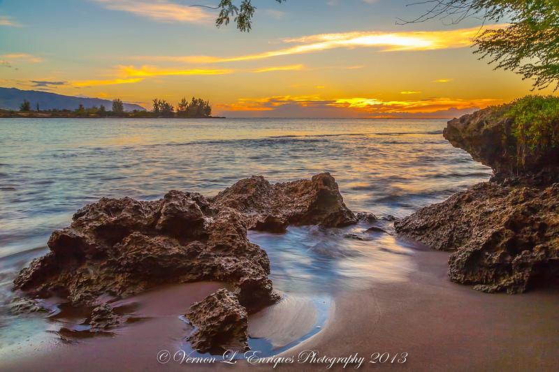 Kaiaka Bay Waialua, Oahu, Hawaii  6.9.13