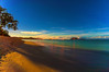 Kailua Beach Park Sunrise  w/HOKULEA 10.19.13