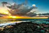 Ko'Olina Secret Beach Sunset 10.15.13