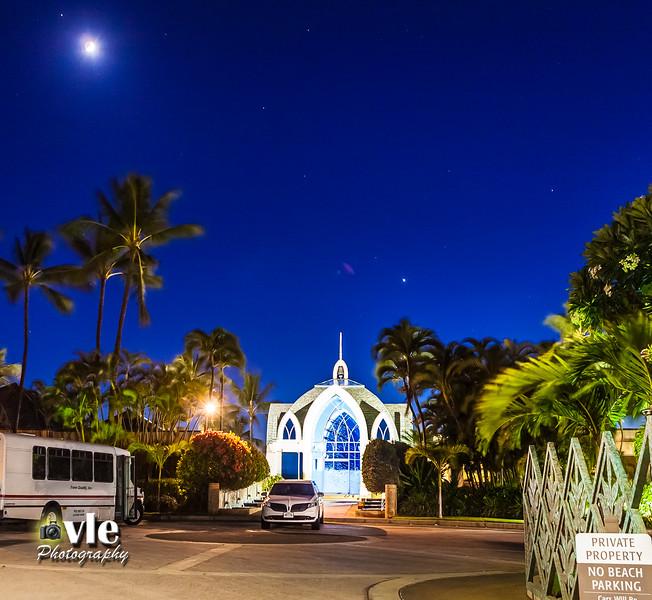 Aulani Chapel Sunset 8.11.13