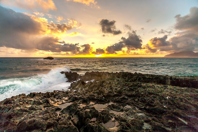 Laie Point 12.3.13 Sunrise
