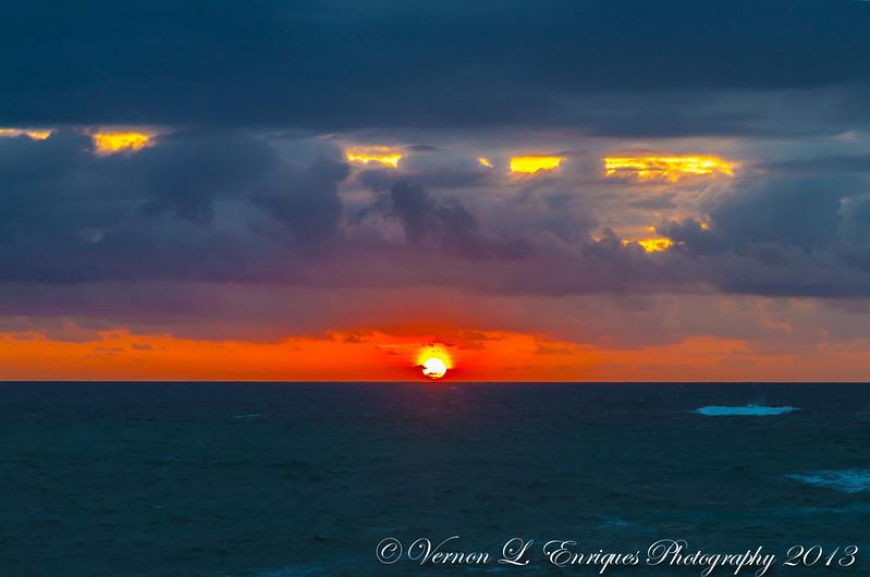 Laie, North Shore Oahu, Hawaii   SUNRISE   4.27.13