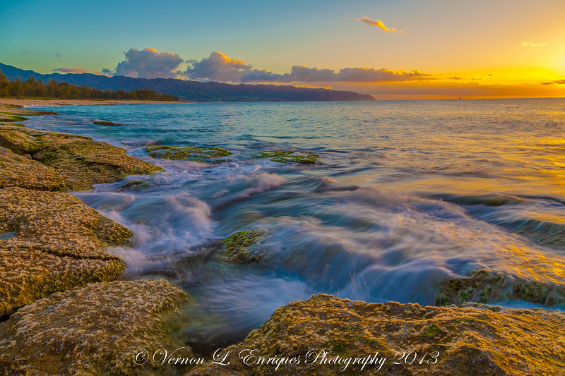 Papailoa, Haleiwa, Hawaii   SUNSET  5.1.13