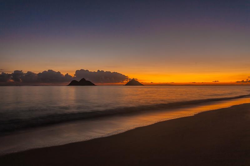 Lanikai Sunrise 1.18.14 / Enchanted Lakes