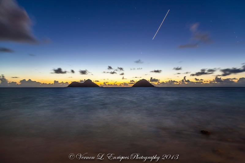 Lanikai Oahu Hawaii  / Sunrise.   7.20.13