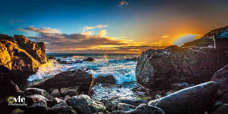 Westside Sunset, Maili Oahu Hawaii 9.21.13