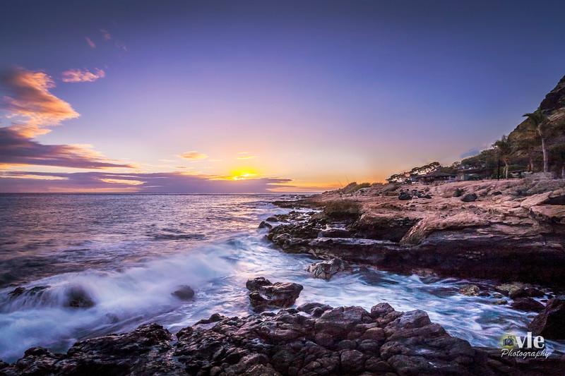 Westside Sunset, Maili area Oahu Hawaii 9.21.13