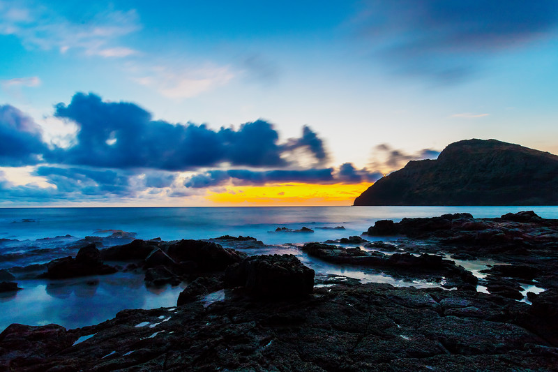 Makapu'u Sunrise Blue Hour 2013