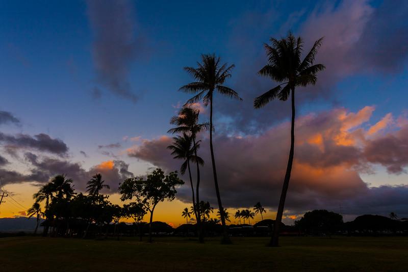Pearl Harbor Blaisdell Park Pearl City Oahu Hawaii