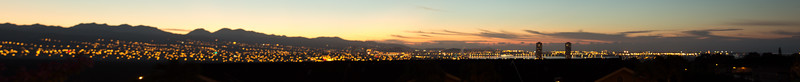 Pearl City Panarama sunrise