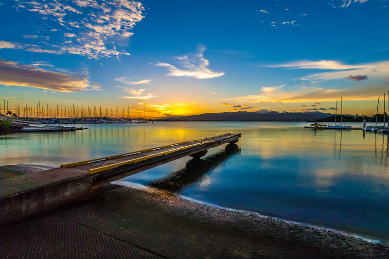 Pearl City Sunset  9.27.13